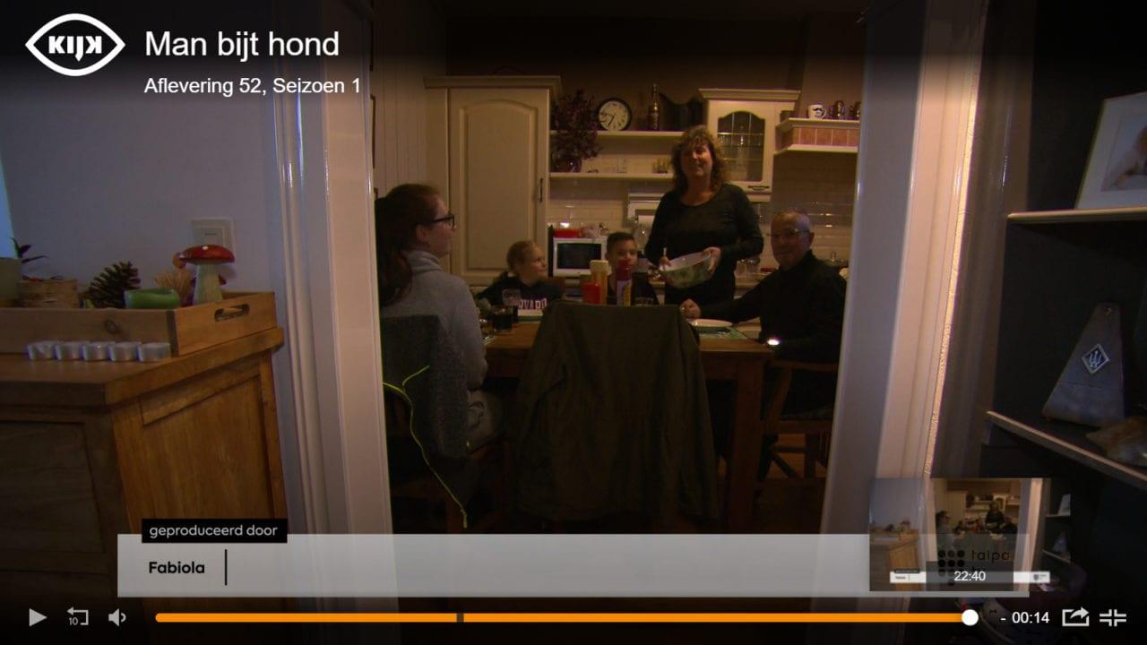 Onze kosters op tv bij Man bijt Hond