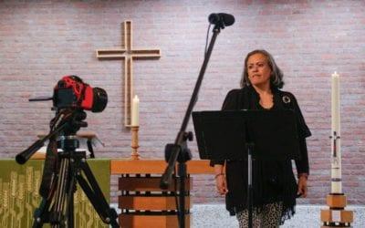 Tijdelijk niet zingen in de kerk