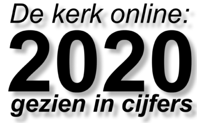 """Venster: 2020 online cijfers: """"55% is man"""" en """"380 mensen uit de VS"""""""