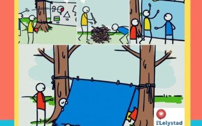 Betweeners Buiten met picknick