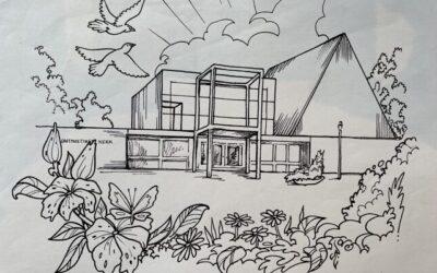 Tekenwedstrijd 50 jaar Ontmoetingskerk